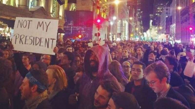 معارضو ترامب.. مازلنا في البداية ونتحضر لحركة احتجاجية طويلة