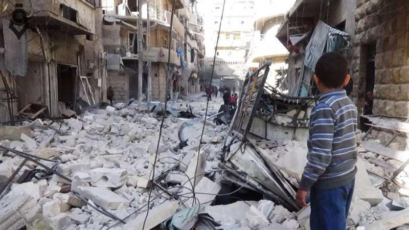 طيران العدو الأسدي يرتكب مجزرة