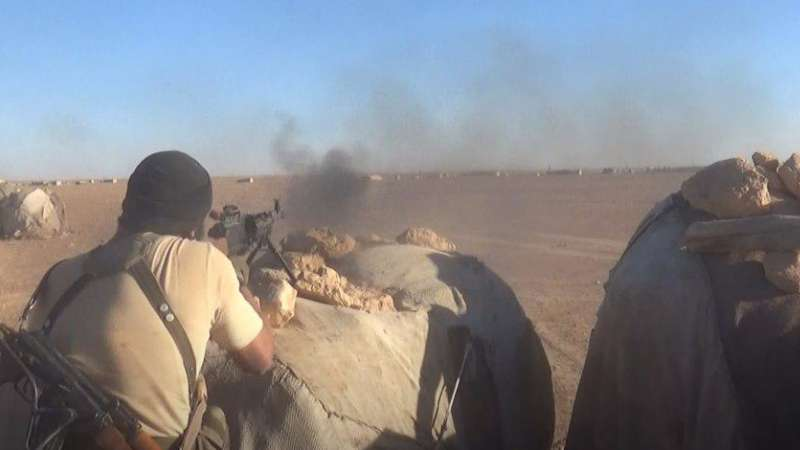 تحرير الشام تنتزع قرية استراتيجية من يد تنظيم الدولة بريف حماة