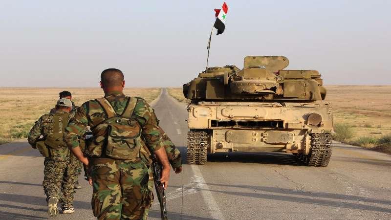 مصادر عسكرية تتحدث عن أهداف حشود النظام في درعا
