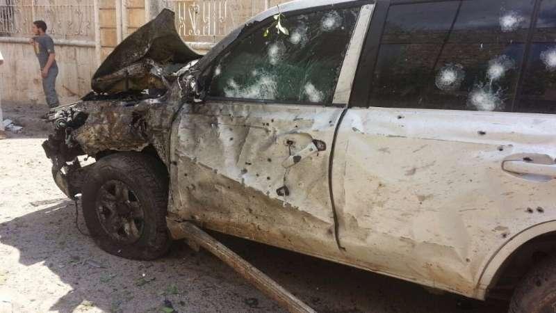 انتحاري يستهدف السعودي المحيسني في إدلب وغموض يكتنف مصيره (صور)