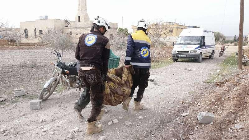 شبكة حقوقية تحصي أعداد القتلى في سوريا خلال عام 2017