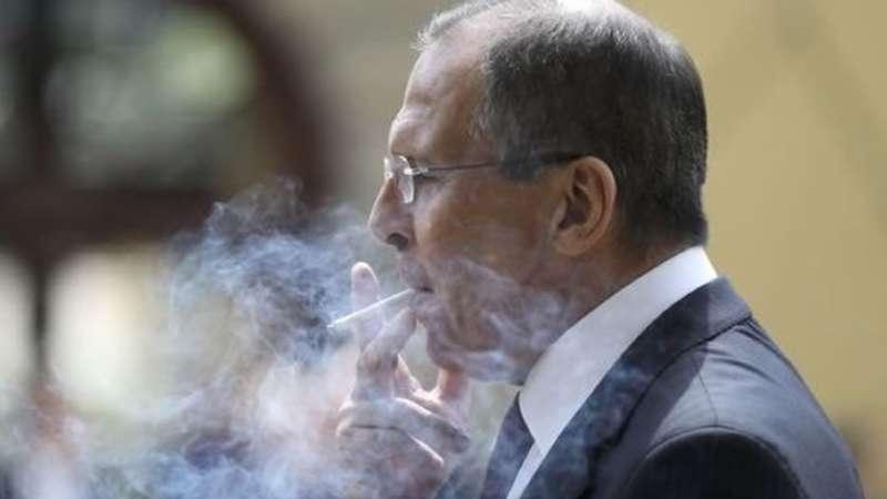 تصريح وزير الخارجية الروسي لإرتكاب