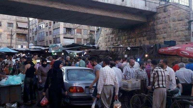 سوق للشبيحة في مدينة حلب يؤرق حياة المدنيين