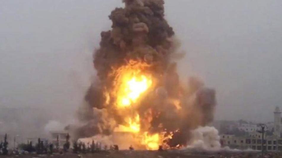 تفاصيل مقتل ضابطين روسيين وعناصر من ميليشيا النمر بانفجار غرب حماة