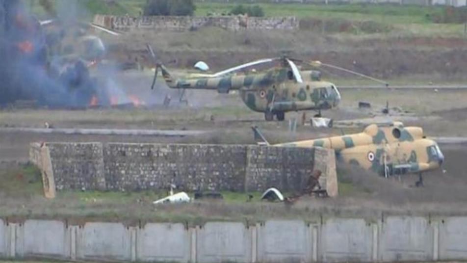 تحرير الشام: الهجوم على مطار حماة العسكري أوقع 50 قتيلاً من ميليشيا أسد وروسيا