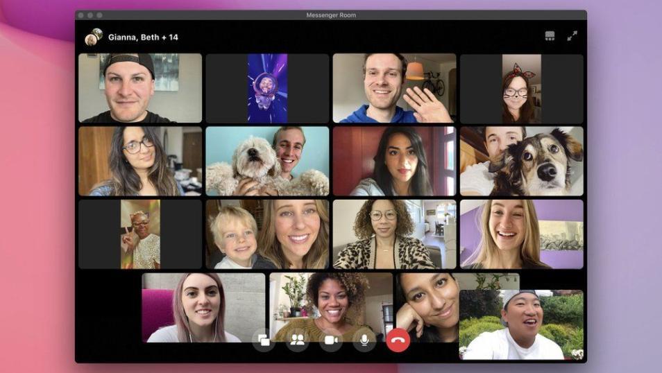 فيسبوك تطلق خدمتها الواعدة Messenger Rooms لجميع المستخدمين.. هذه ميزاتها