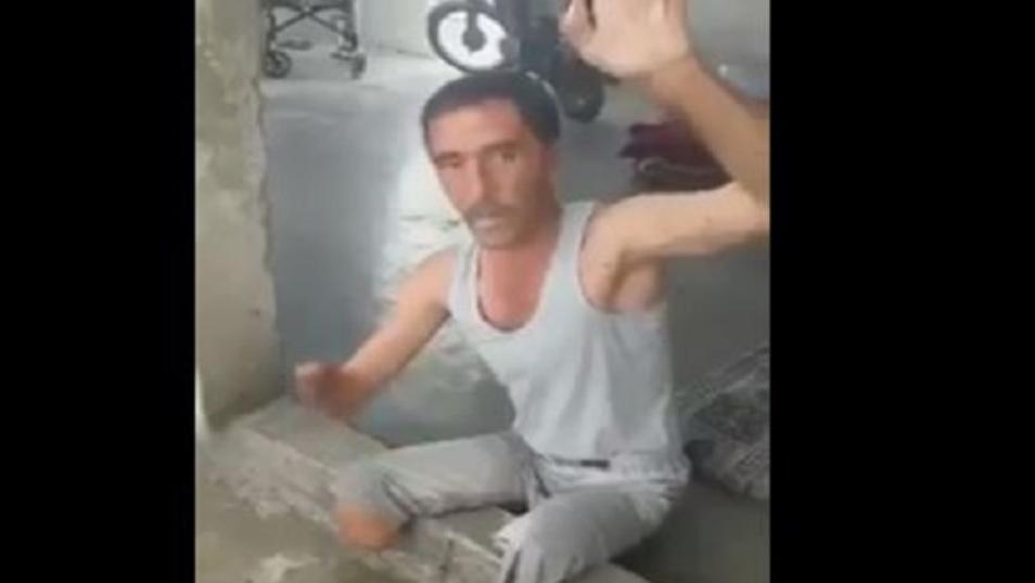 قهر الرجال.. فيديو مؤلم لرجل من ذوي الاحتياجات الخاصة يشكو قلة الطعام